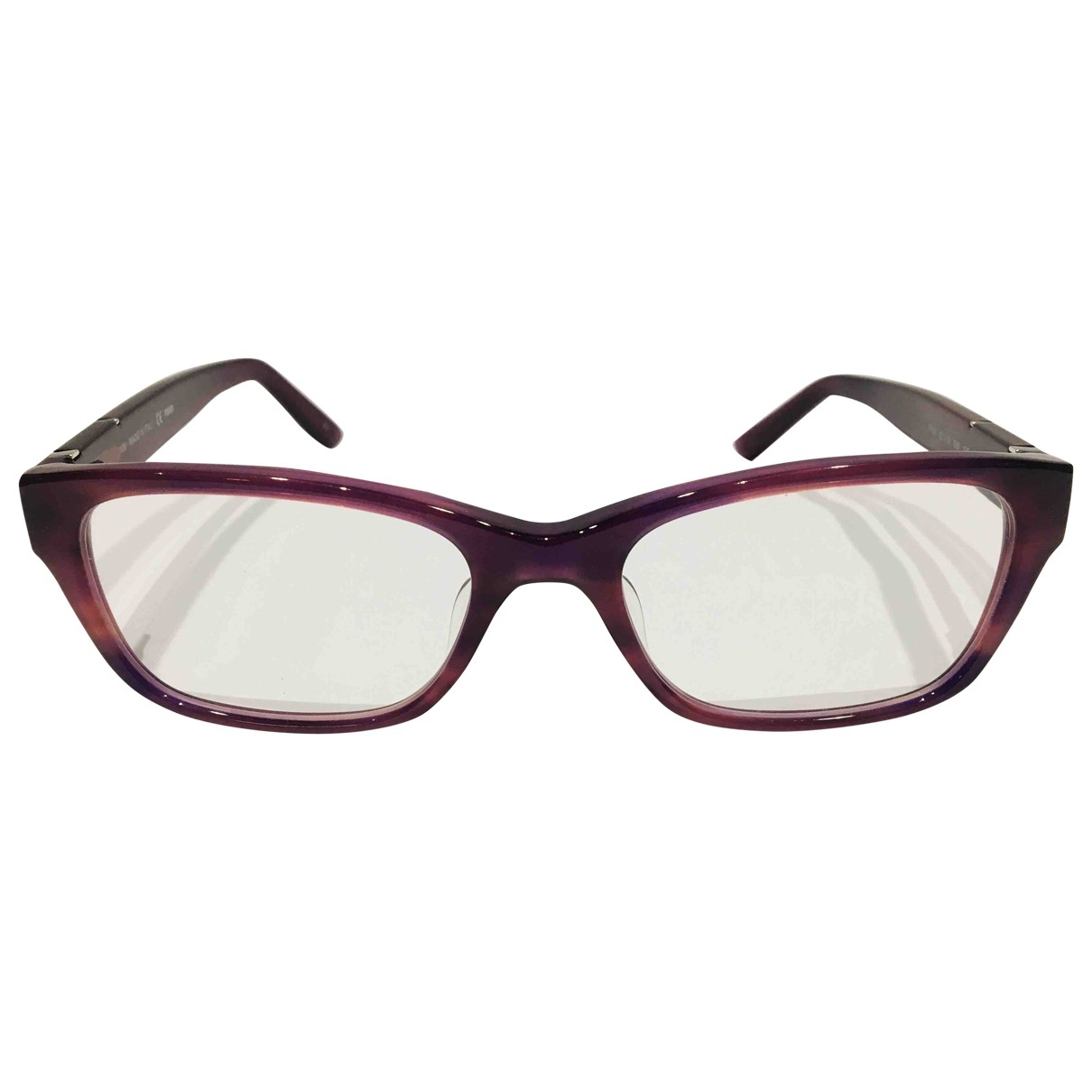 Fendi \N Burgundy Sunglasses for Women \N
