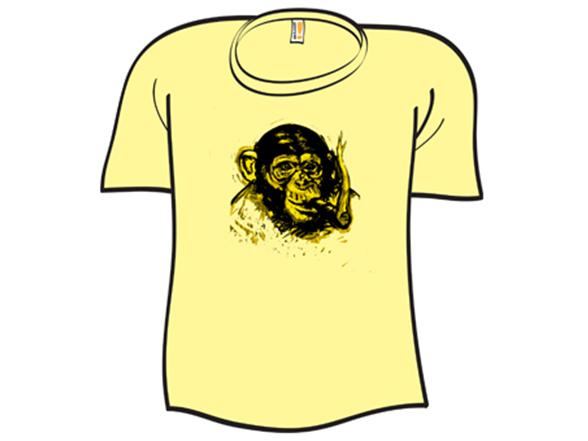 Chimpanzee Robusto T Shirt