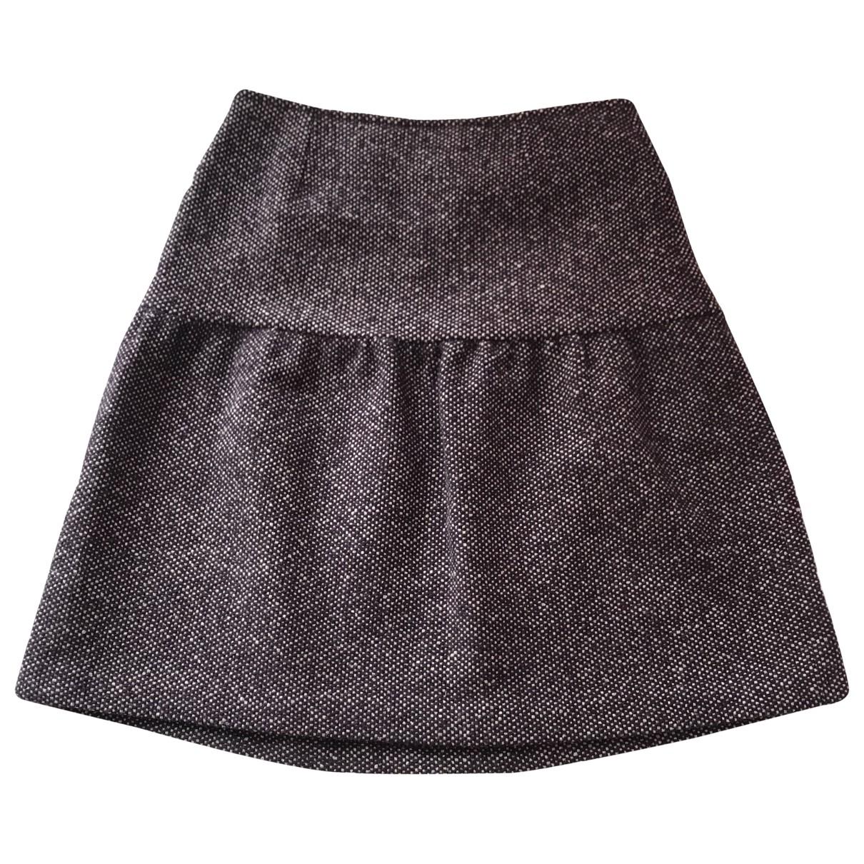 Dries Van Noten \N Rocke in  Grau Tweed