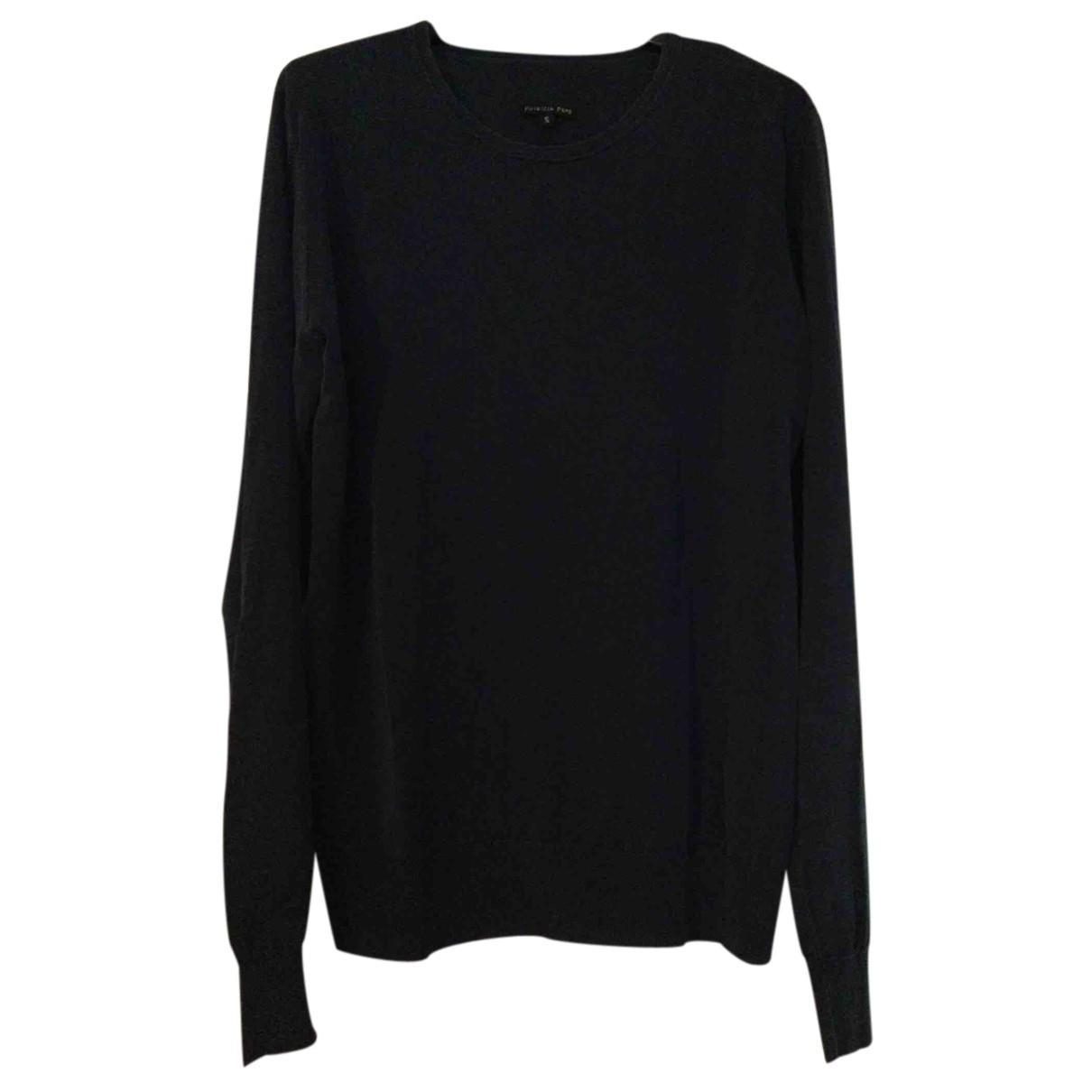 Patrizia Pepe \N Pullover.Westen.Sweatshirts  in  Blau Baumwolle
