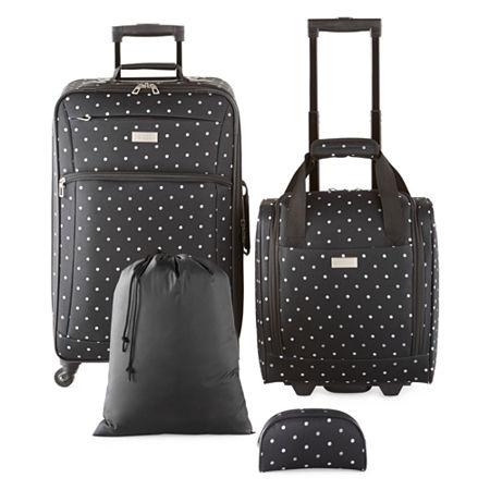 Protocol Evolution 4-pc. Luggage Set, One Size , Black