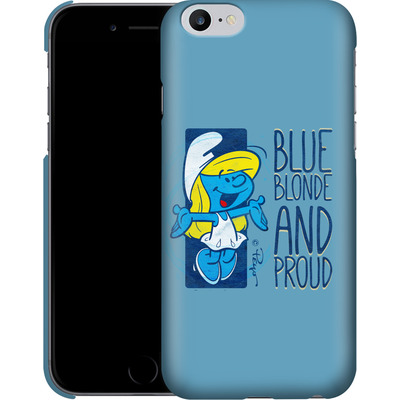 Apple iPhone 6 Plus Smartphone Huelle - Blue, Blond and Proud von The Smurfs