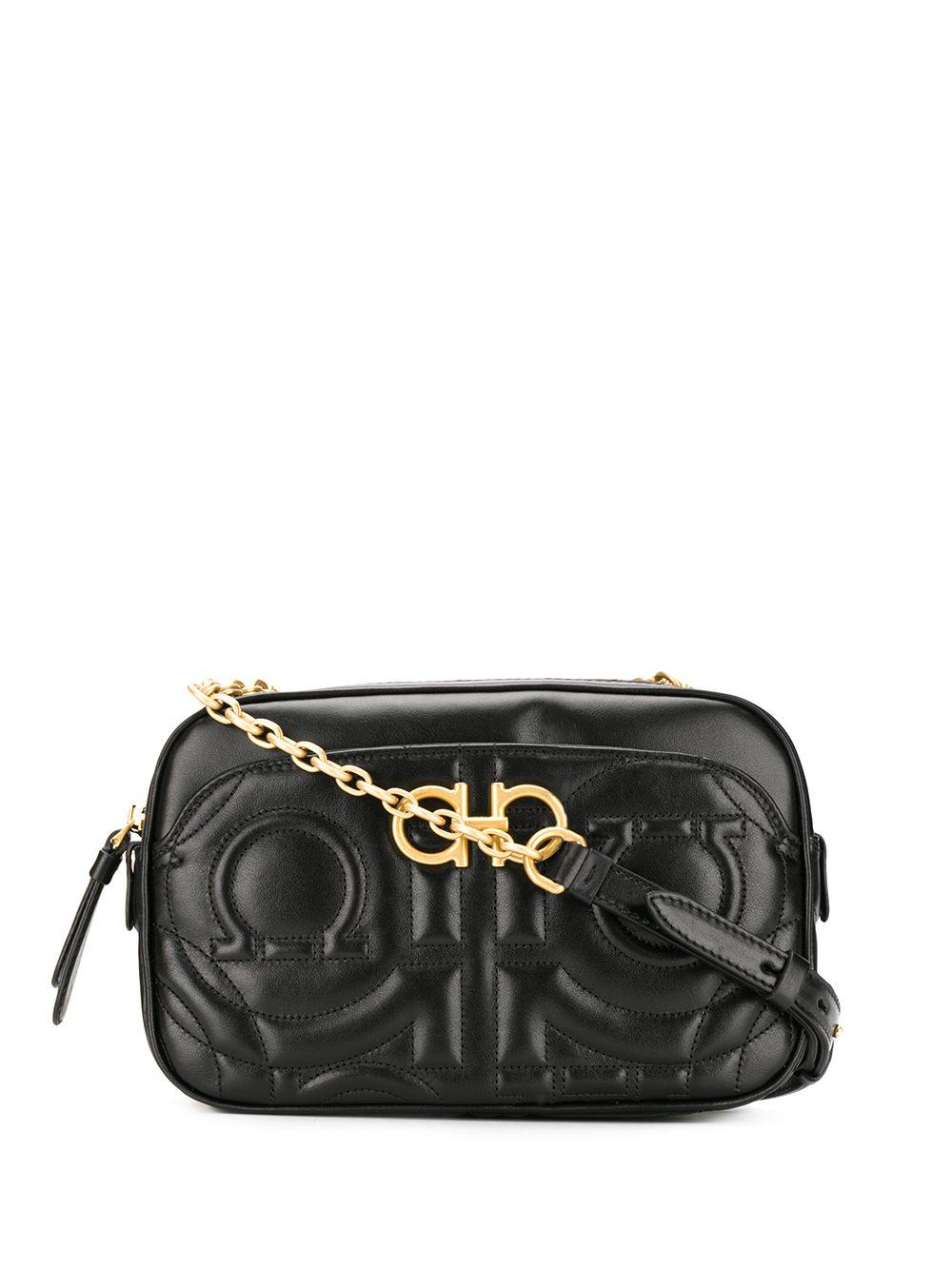 Gancino Leather Crossbody Bag