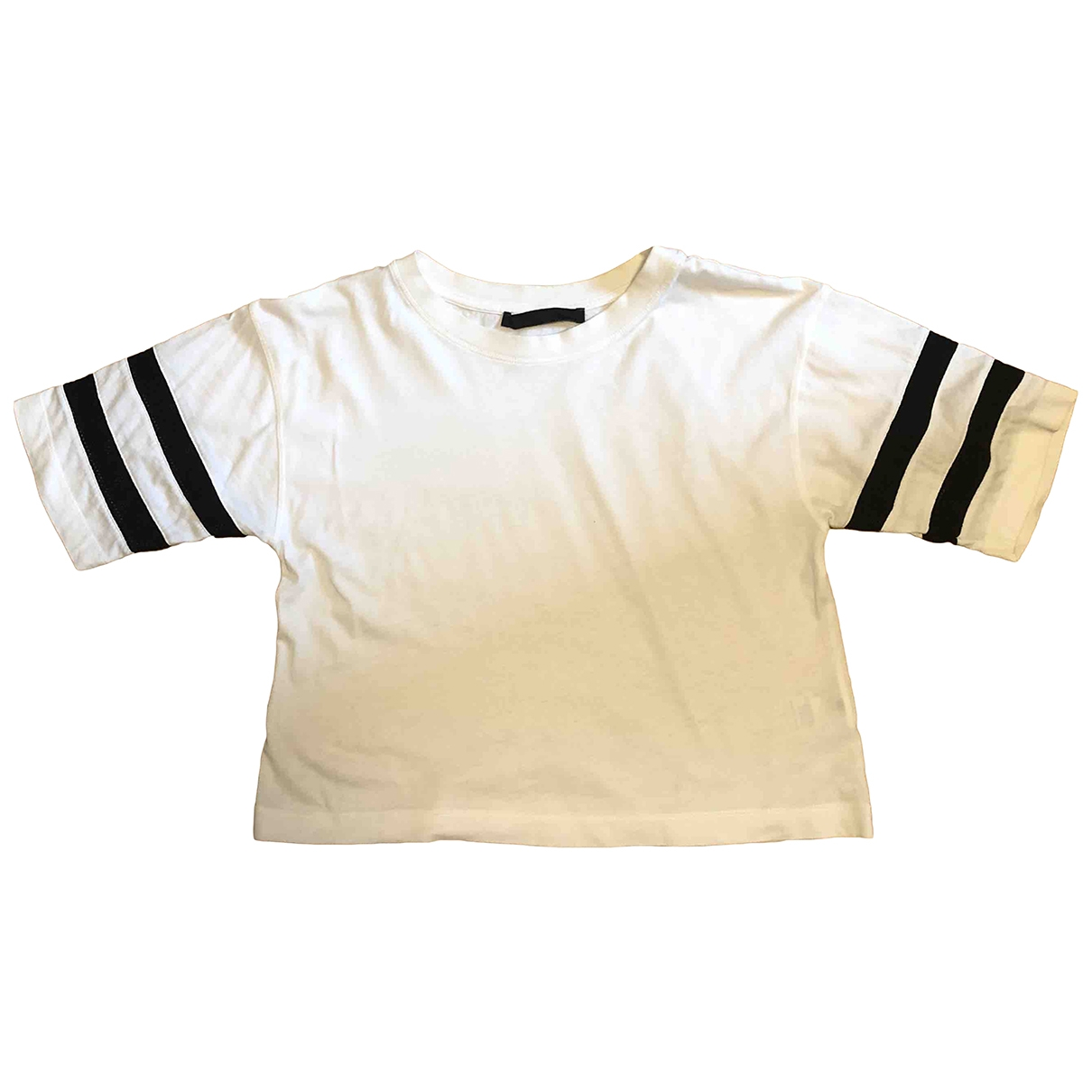 Karl Lagerfeld \N White Cotton  top for Women S International