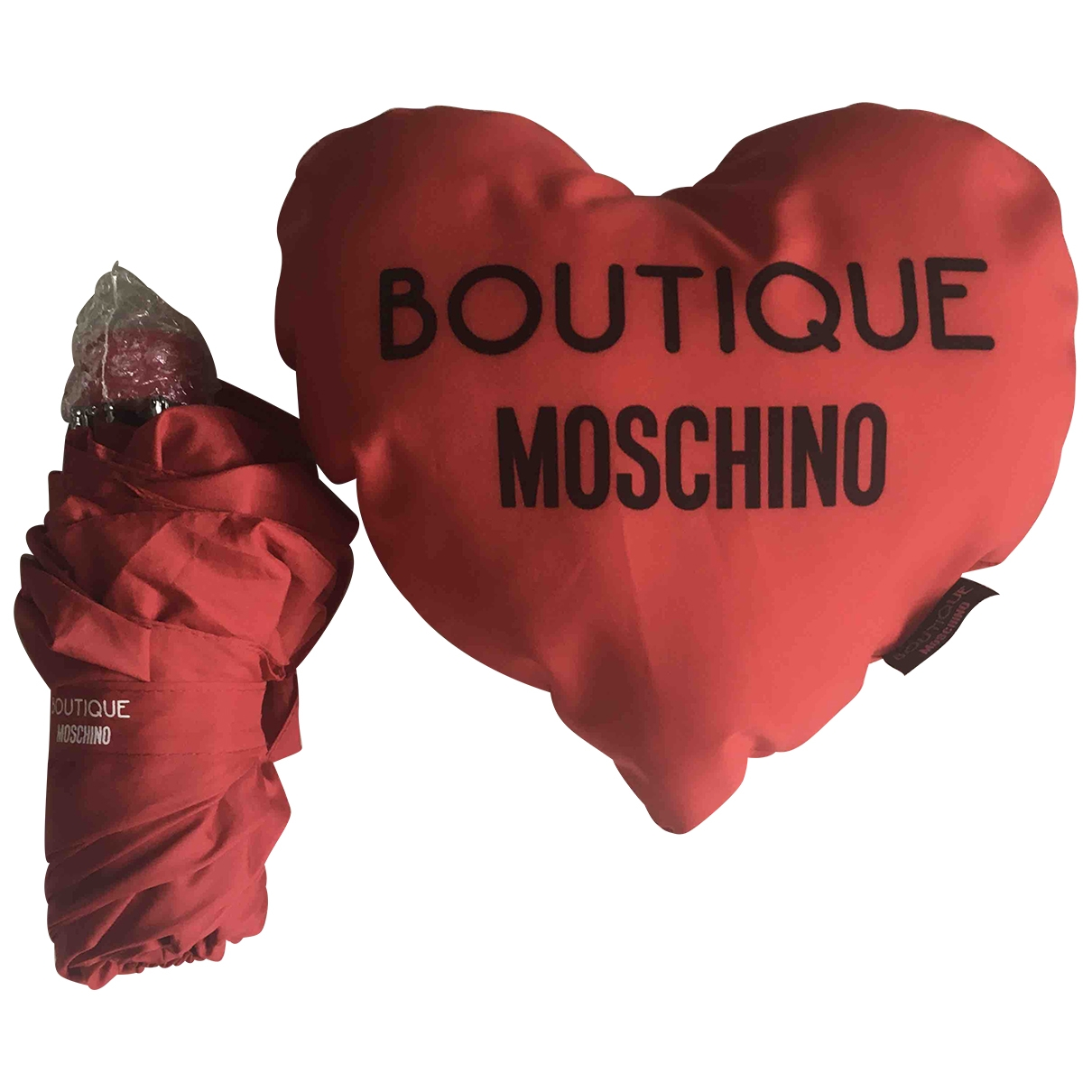Moschino \N Accessoires und Dekoration in  Rot Polyester
