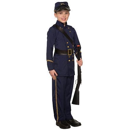 Boys Civil War Soldier Costume Boys Costume, Small , Multiple Colors