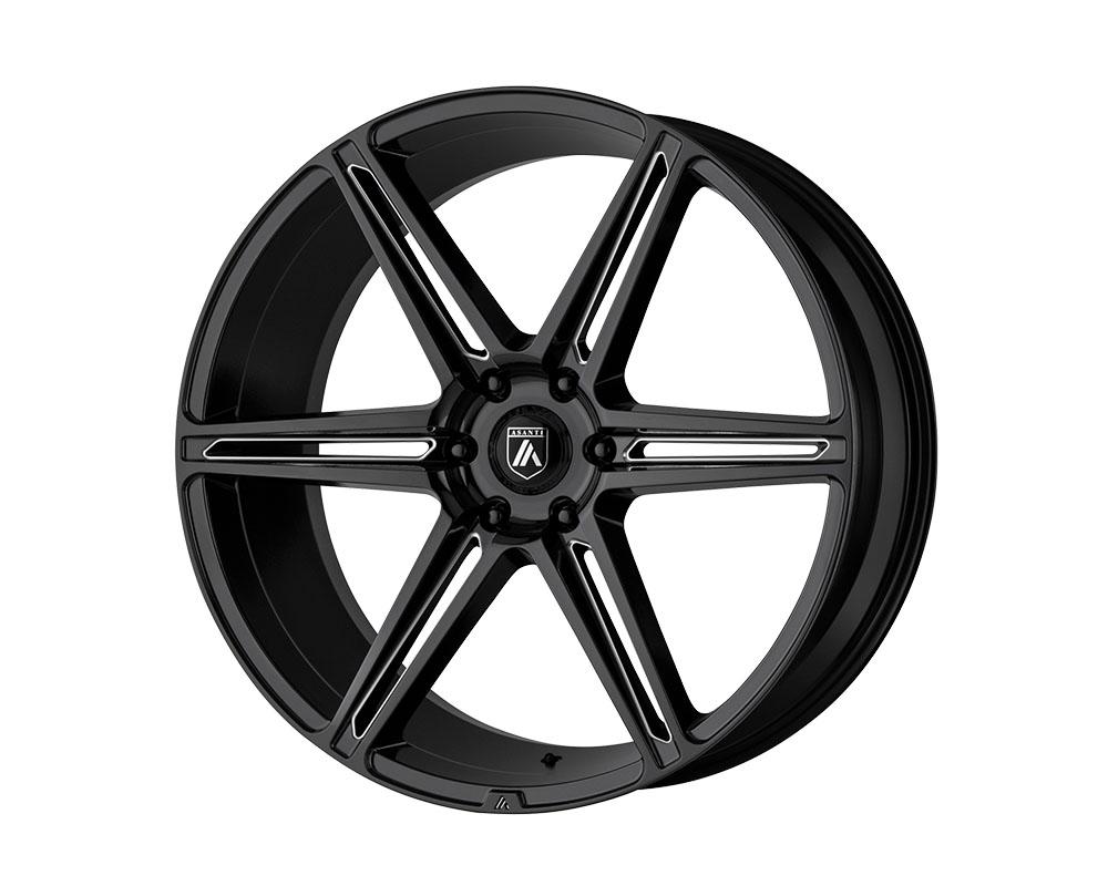 Asanti ABL25-24106330BK Black ABL-25 Alpha 6 Wheel 24x10 6x6x135 +30mm Gloss Black Milled