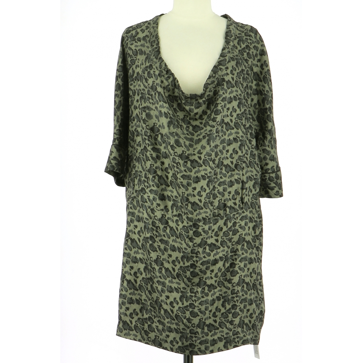 Stella Forest \N Multicolour Silk dress for Women 38 FR