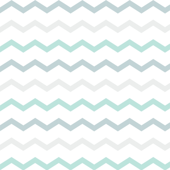 Non Photo 18x18 Square Throw Pillow, Gift -Grey Green Chevron
