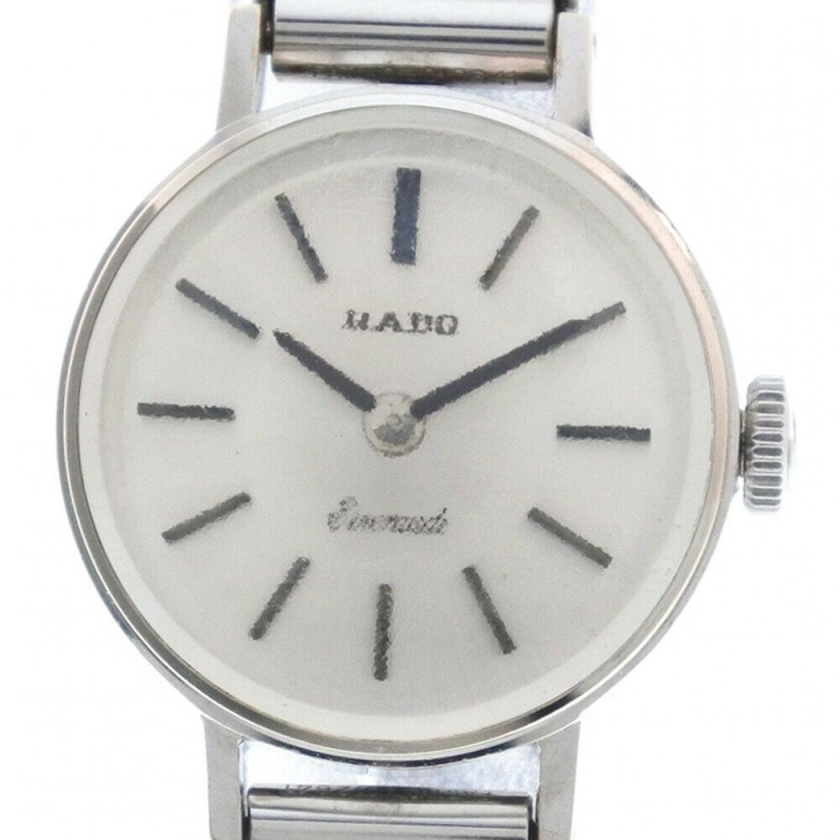 Rado \N Silver White gold watch for Women \N