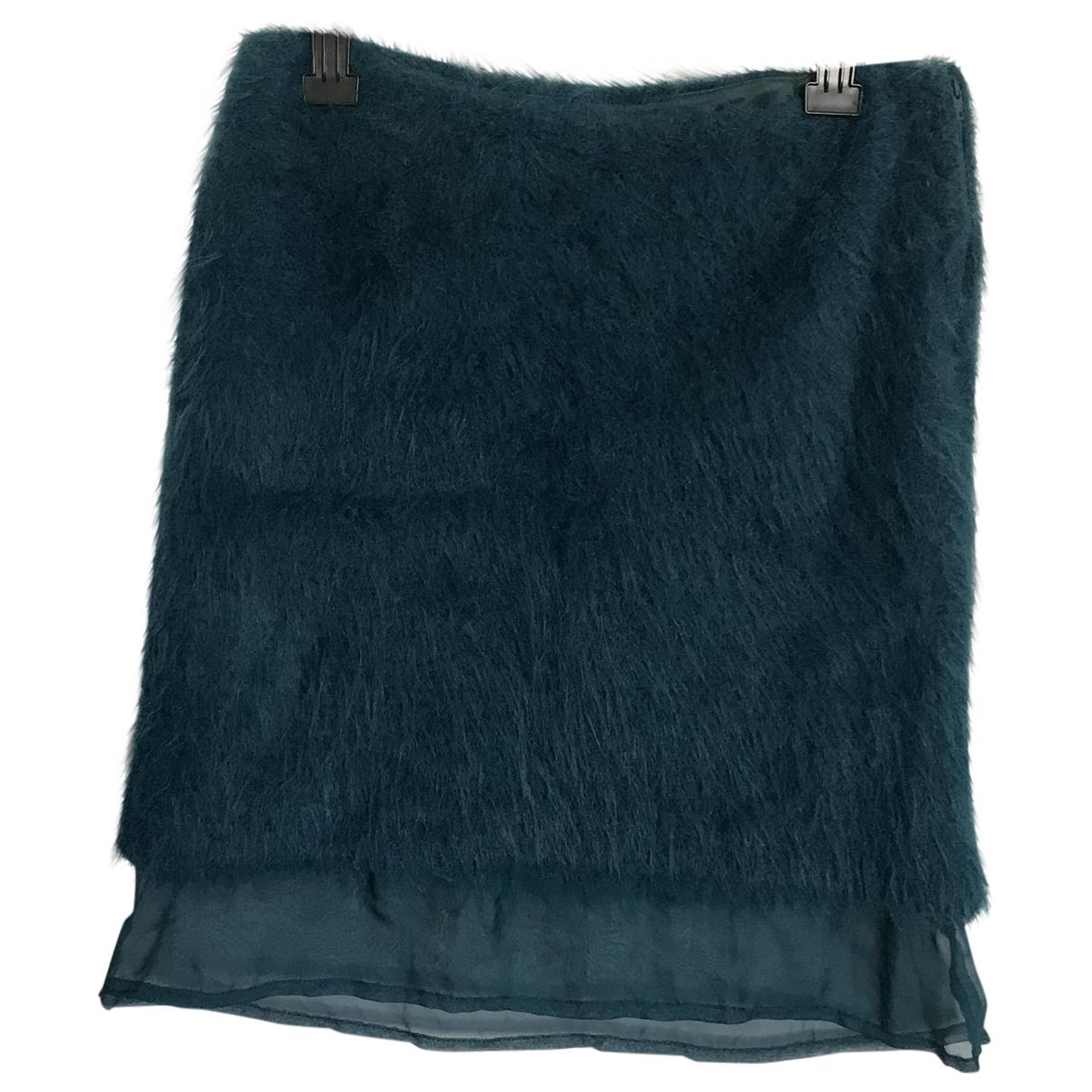 - Jupe   pour femme - turquoise