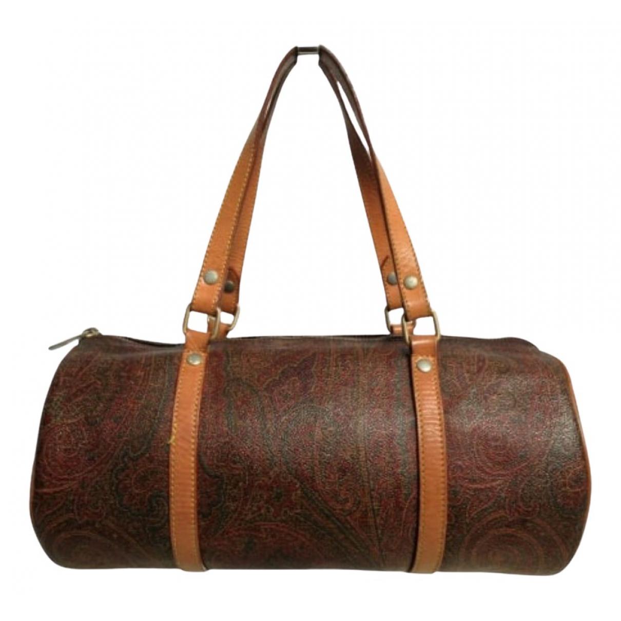 Etro N Brown Cloth handbag for Women N
