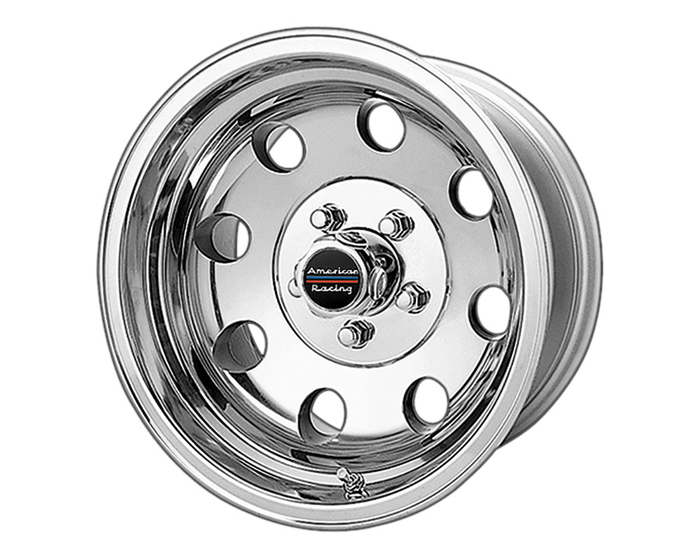 American Racing AR172 Baja Wheel 15x8 6x6x114.3 +20mm Polished