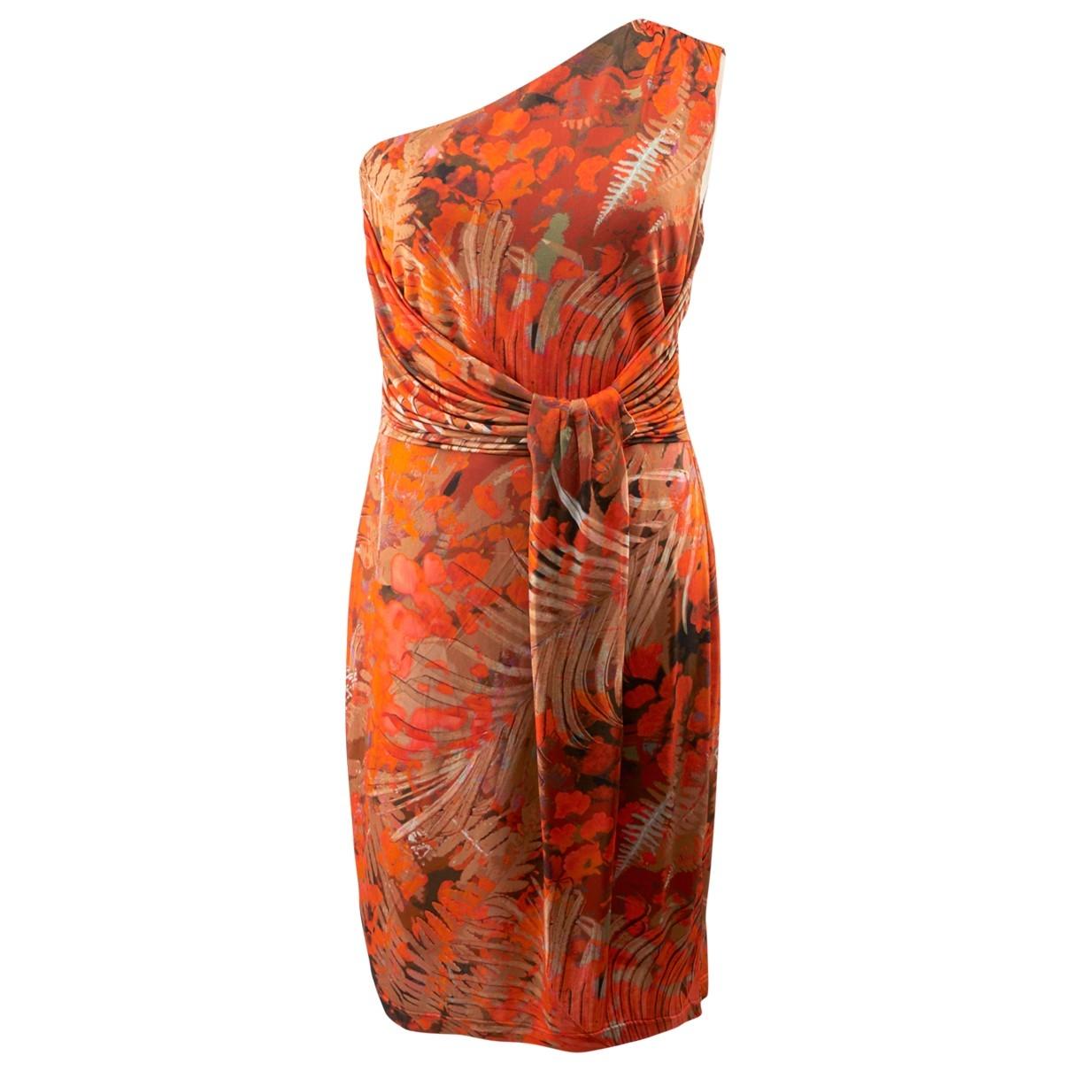 Non Signé / Unsigned \N Orange dress for Women 44 IT