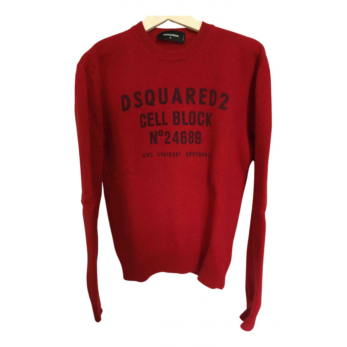 Dsquared2 N Red Wool Knitwear for Women M International