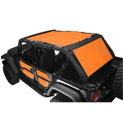 DirtyDog 4x4 Safari Sun Screen with Cargo Coverage (Orange) - J4SS07SCOR
