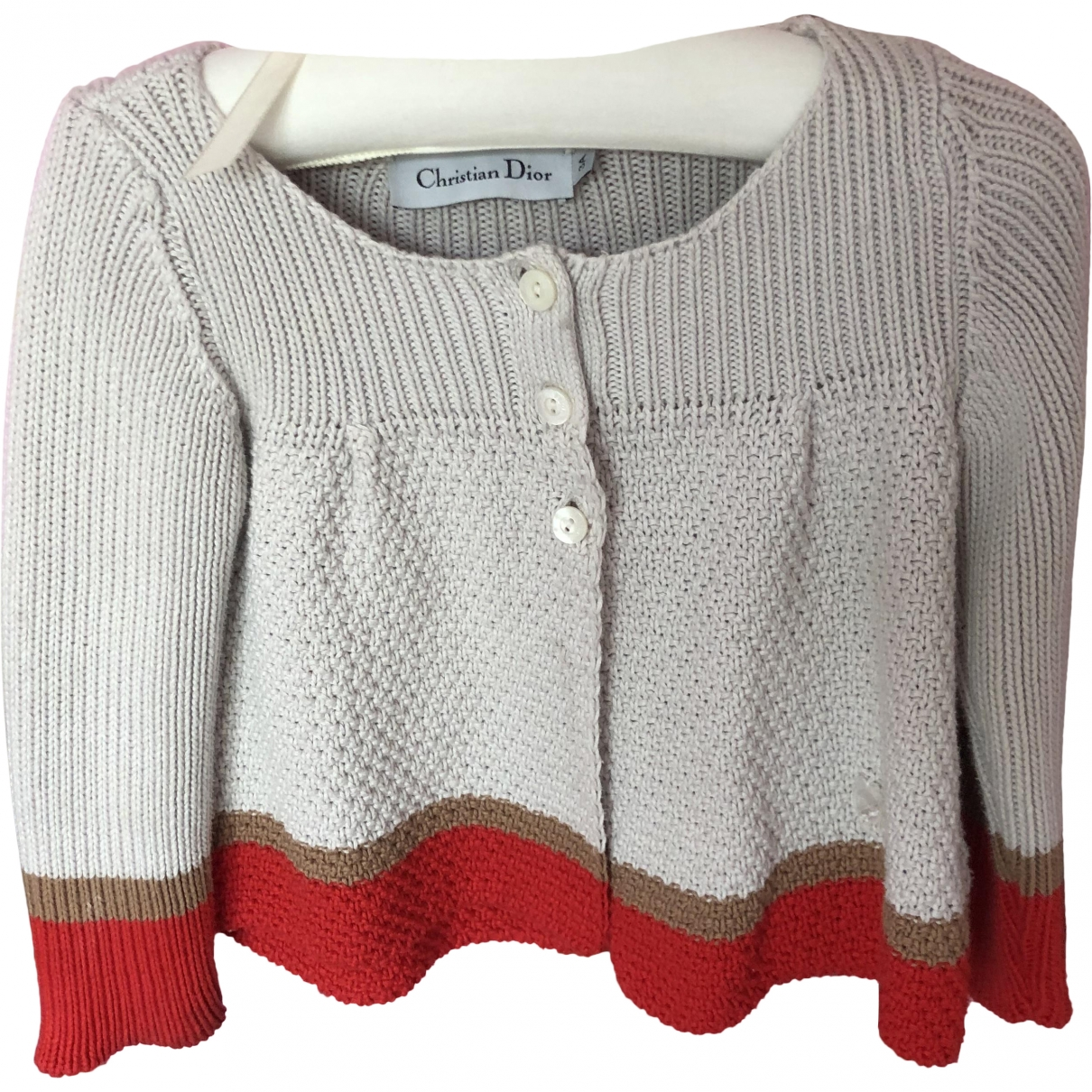 Dior \N Ecru Wool jacket & coat for Kids 3 years - up to 98cm FR