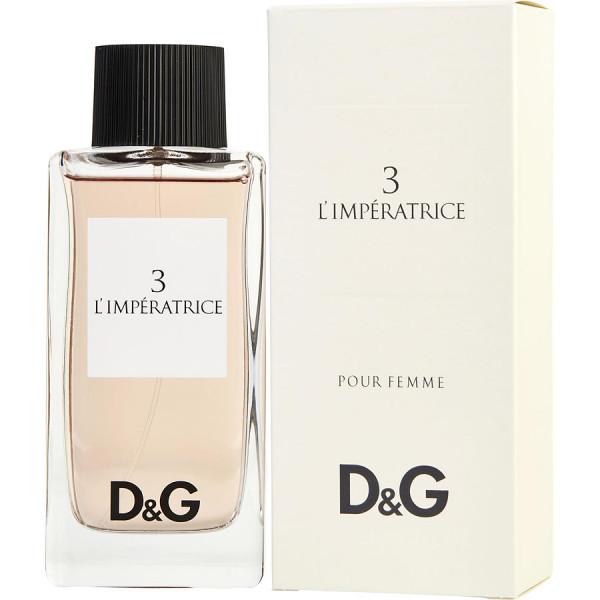 3 LImperatrice - Dolce & Gabbana Eau de toilette en espray 100 ML