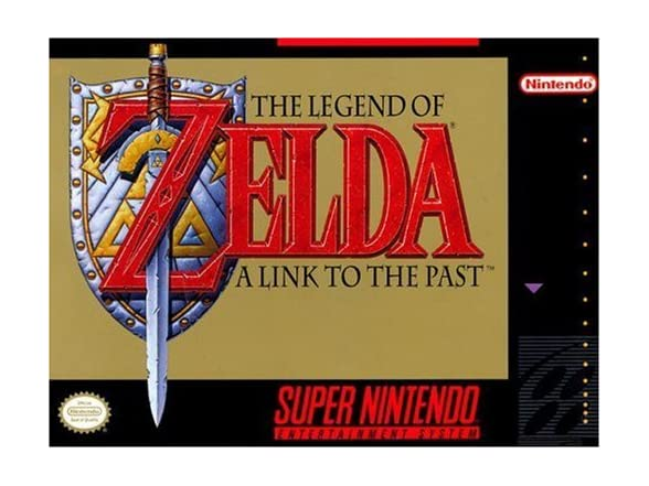 The Legend Of Zelda: A Link To The Past (super Nintendo) (open Box)