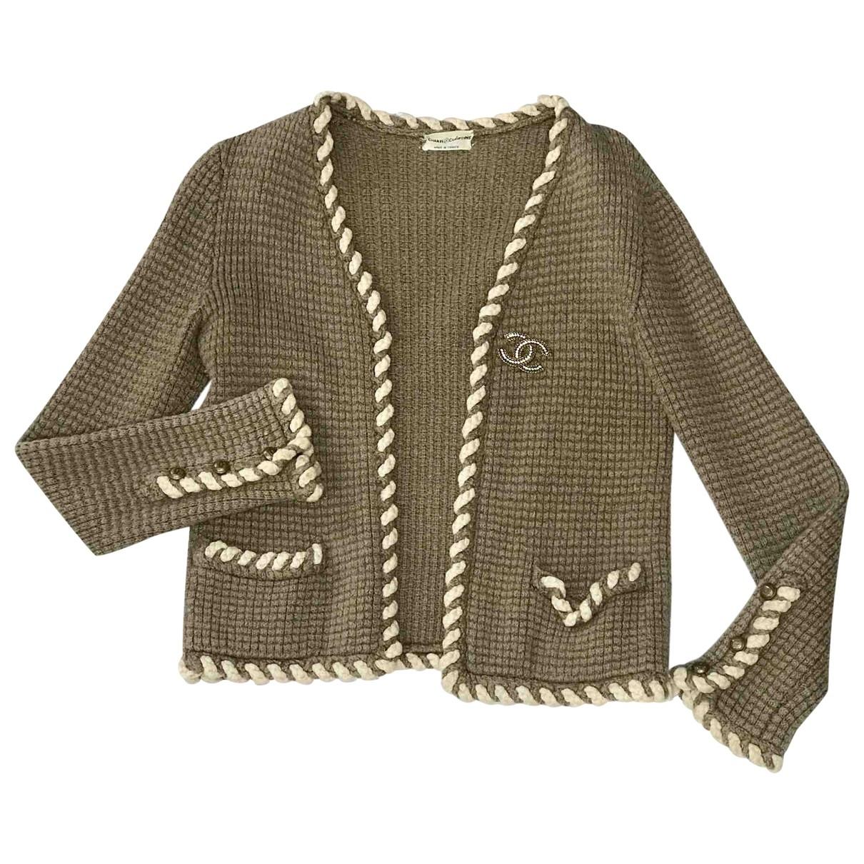 Chanel \N Brown Wool jacket for Women 36 FR