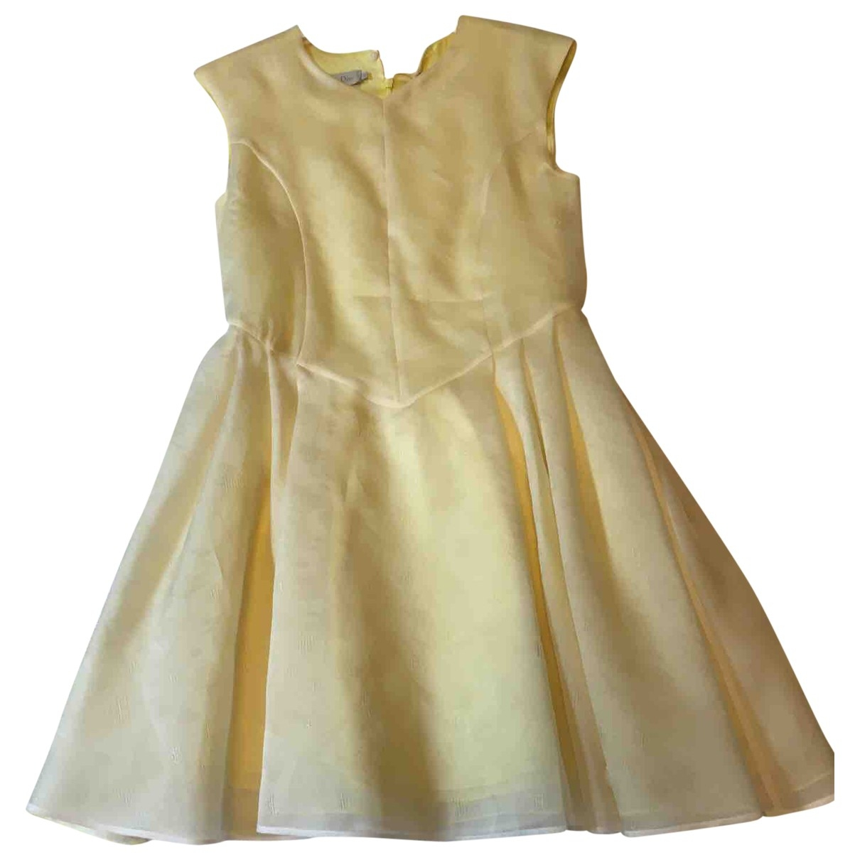 Dior \N Yellow Silk dress for Kids 10 years - up to 142cm FR