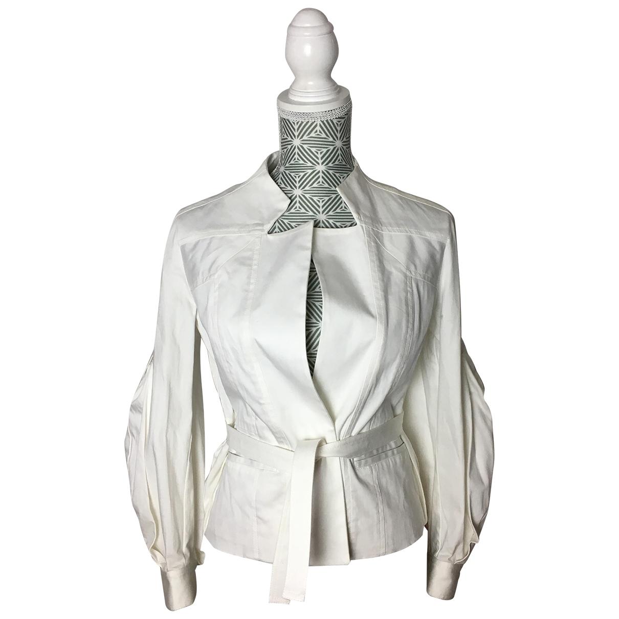 Christian Lacroix - Veste   pour femme en coton - blanc