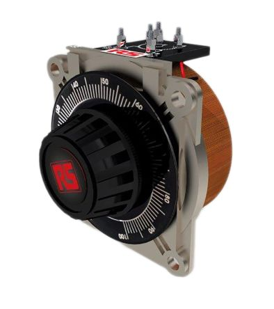 RS PRO 1 Phase 1.92kVA Variac, 1 Output, 240V, 8A