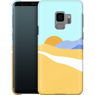 Samsung Galaxy S9 Smartphone Huelle - Sunset Beach von Lucy Bohr