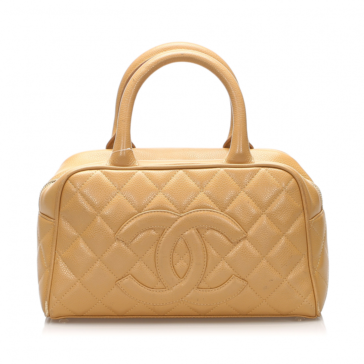 Chanel N Brown Leather Travel bag for Women N