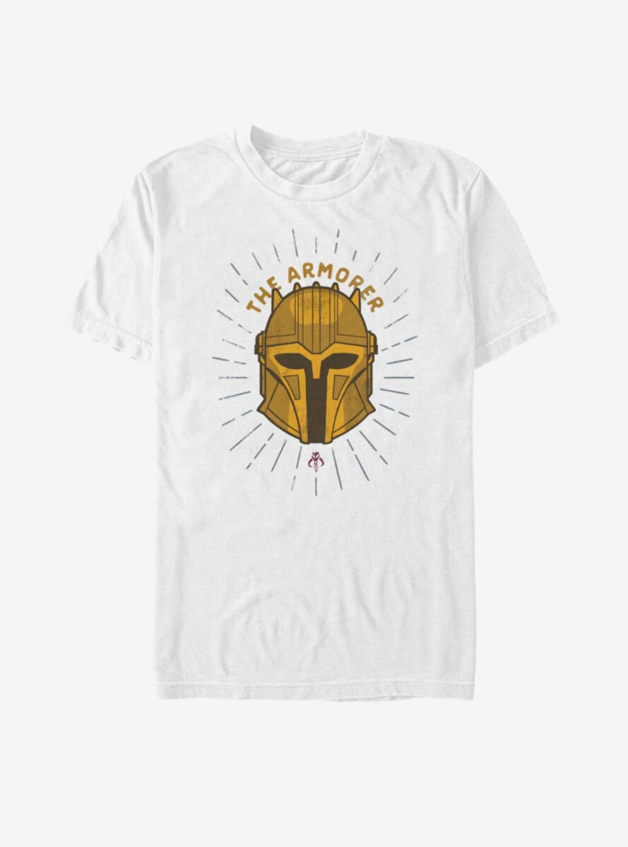 Star Wars The Mandalorian Armorer Shield T-Shirt