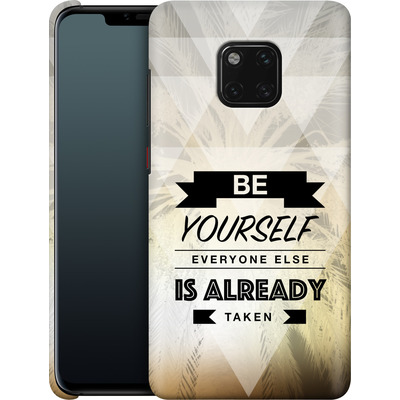 Huawei Mate 20 Pro Smartphone Huelle - Be Yourself von Statements