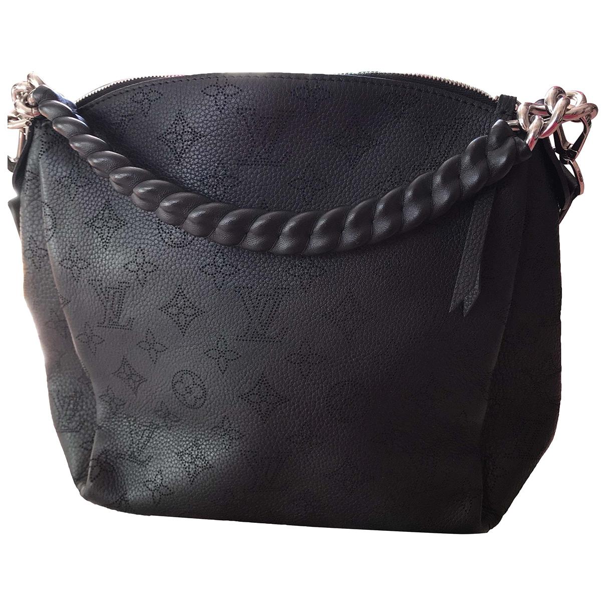 Louis Vuitton Babylone Handtasche in  Schwarz Leder