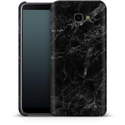 Samsung Galaxy J4 Plus Smartphone Huelle - Midnight Marble von caseable Designs