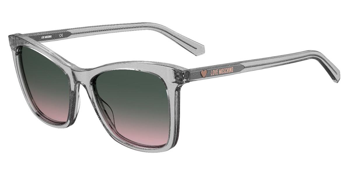 Moschino Love MOL020/S KB7/JP Men's Sunglasses Grey Size 53