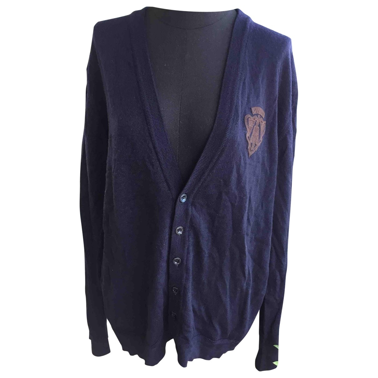 Gucci \N Blue Wool Knitwear & Sweatshirts for Men XL International