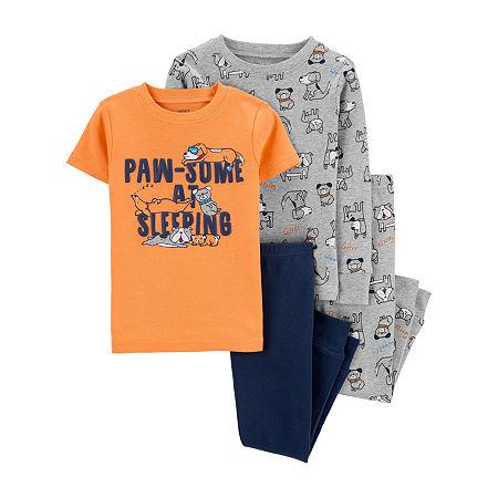 Carter's Toddler Boys 4-pc. Pajama Set, 2t , Gray