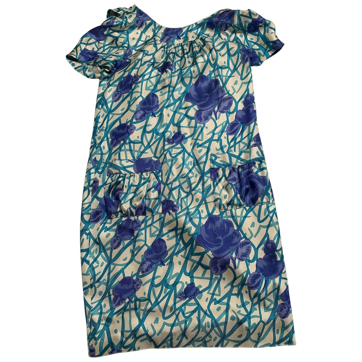 Vera Wang \N Multicolour Silk dress for Women 4 0-5