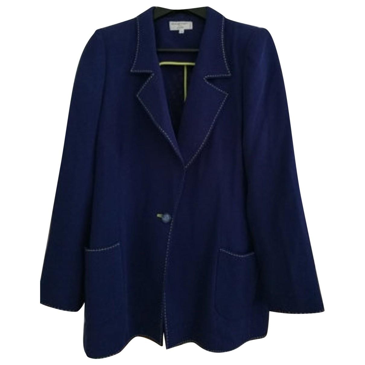 Emanuel Ungaro - Veste   pour femme en laine - violet