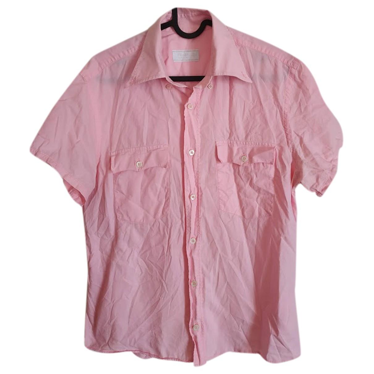 Prada \N Hemden in  Rosa Baumwolle