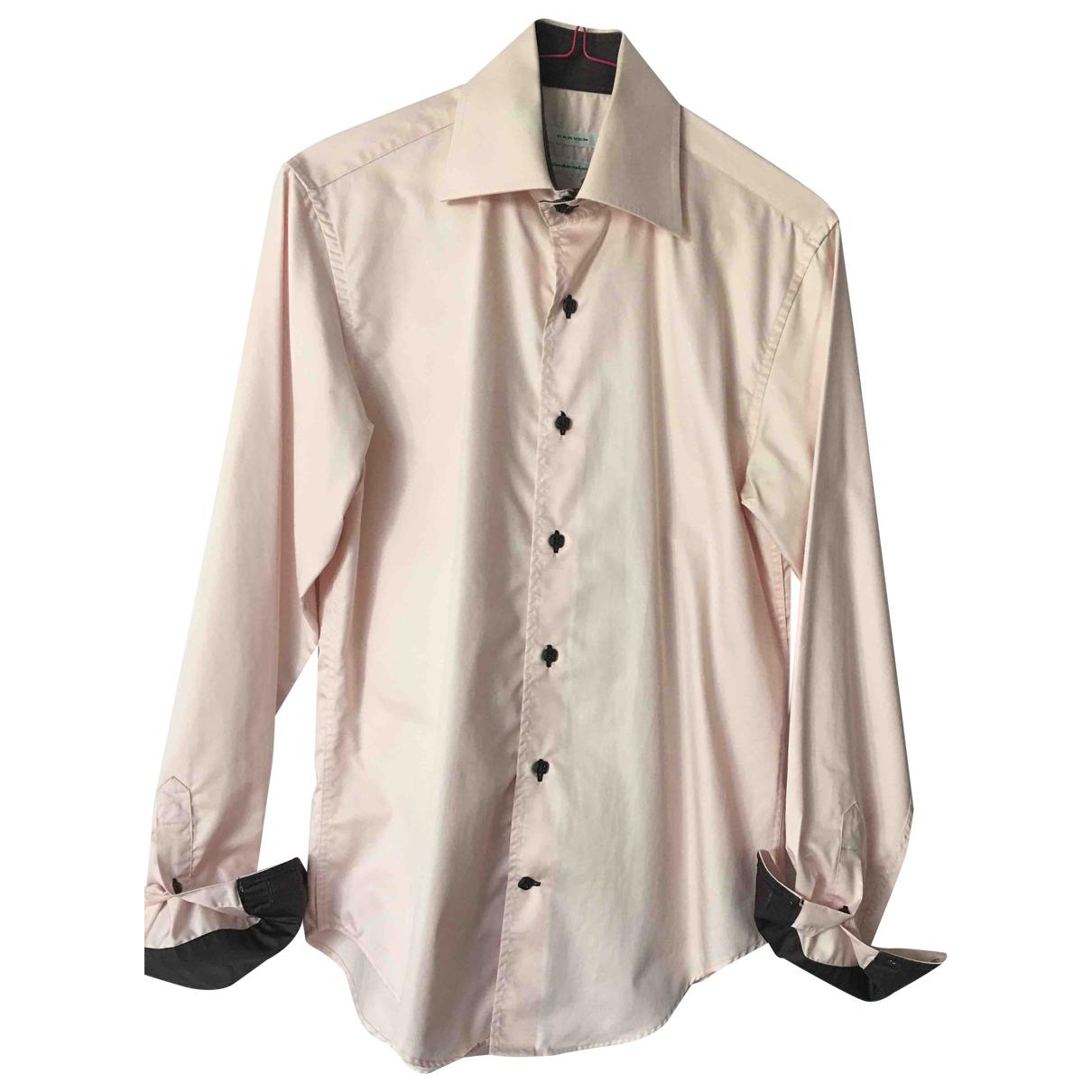Carven - Chemises   pour homme en coton - rose