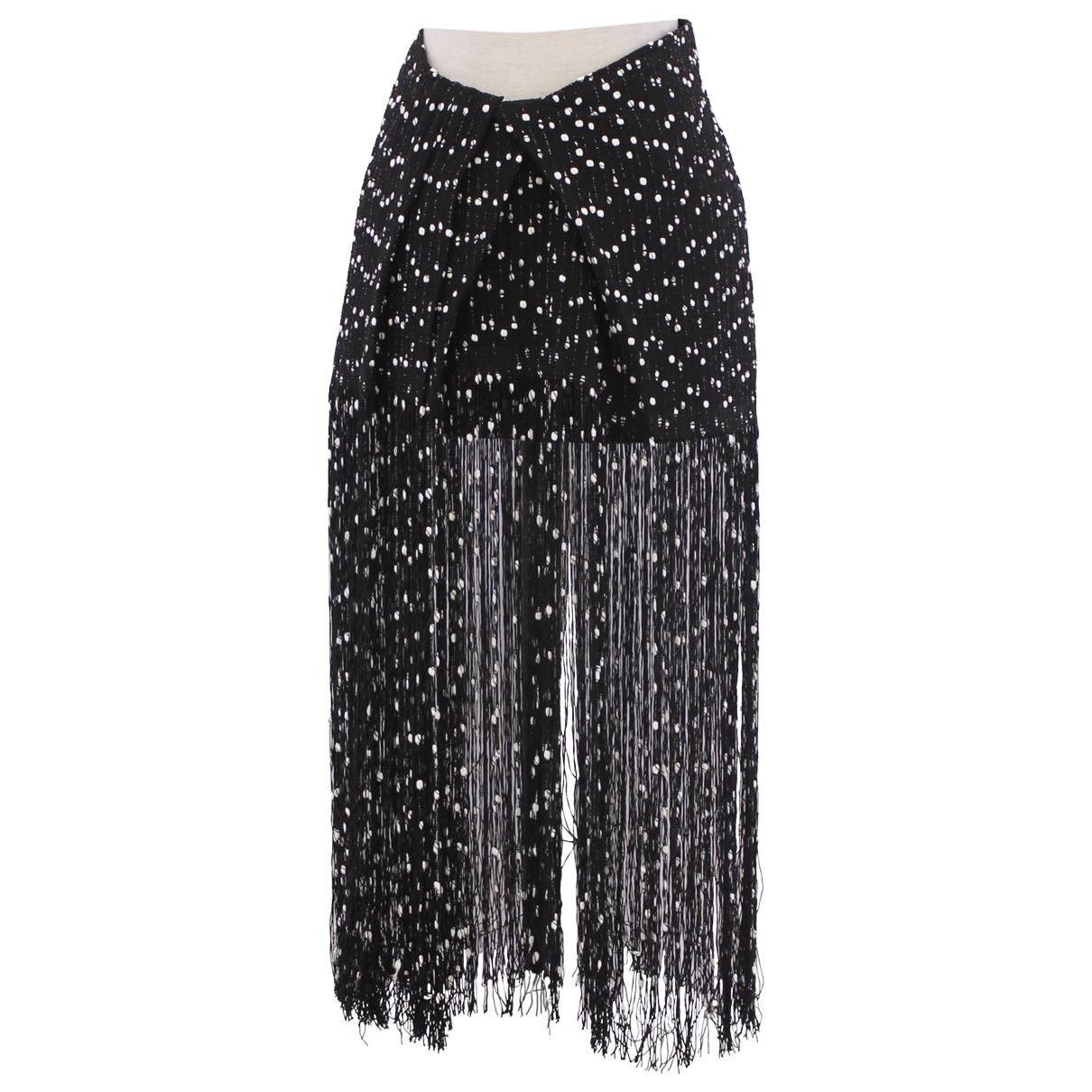 Jacquemus La Riviera Black Cotton skirt for Women 36 FR
