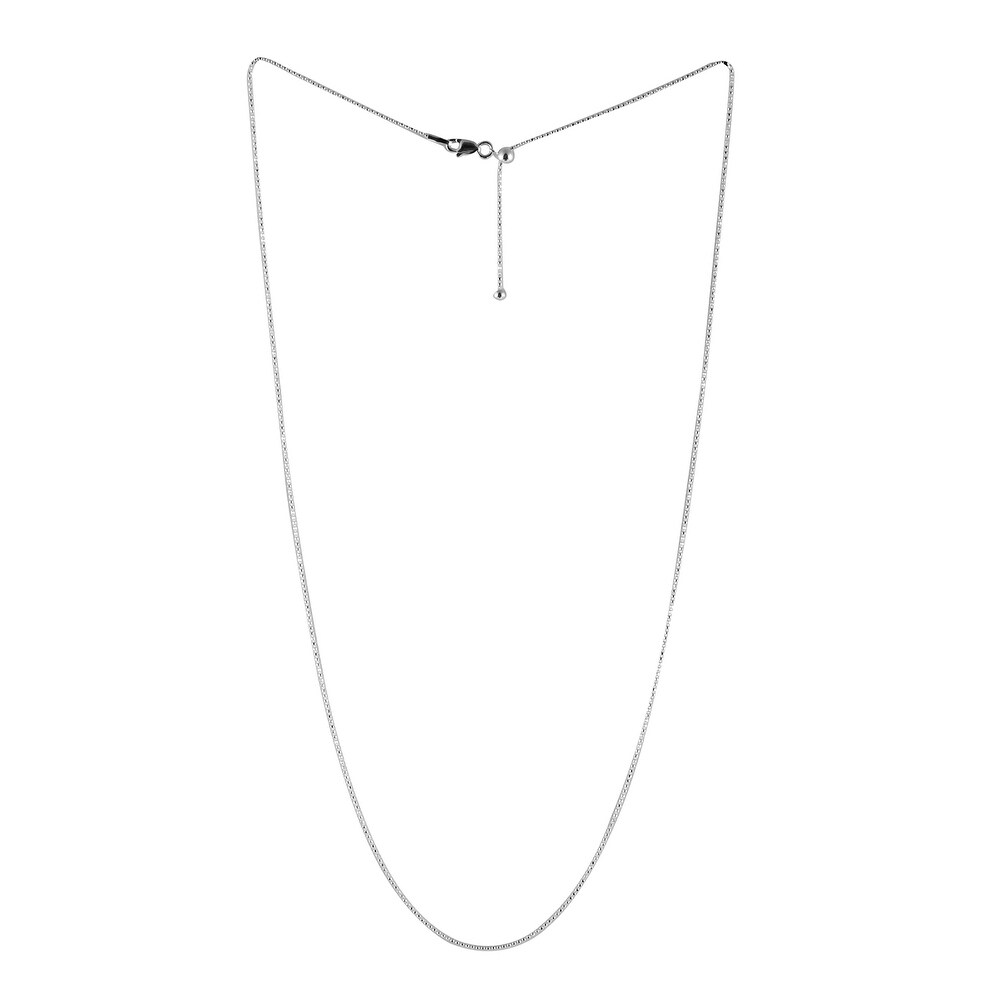 Bead Chain 24 Inch in Sterling Silver 2.31 Grams - Size 24'' (Size 24'')