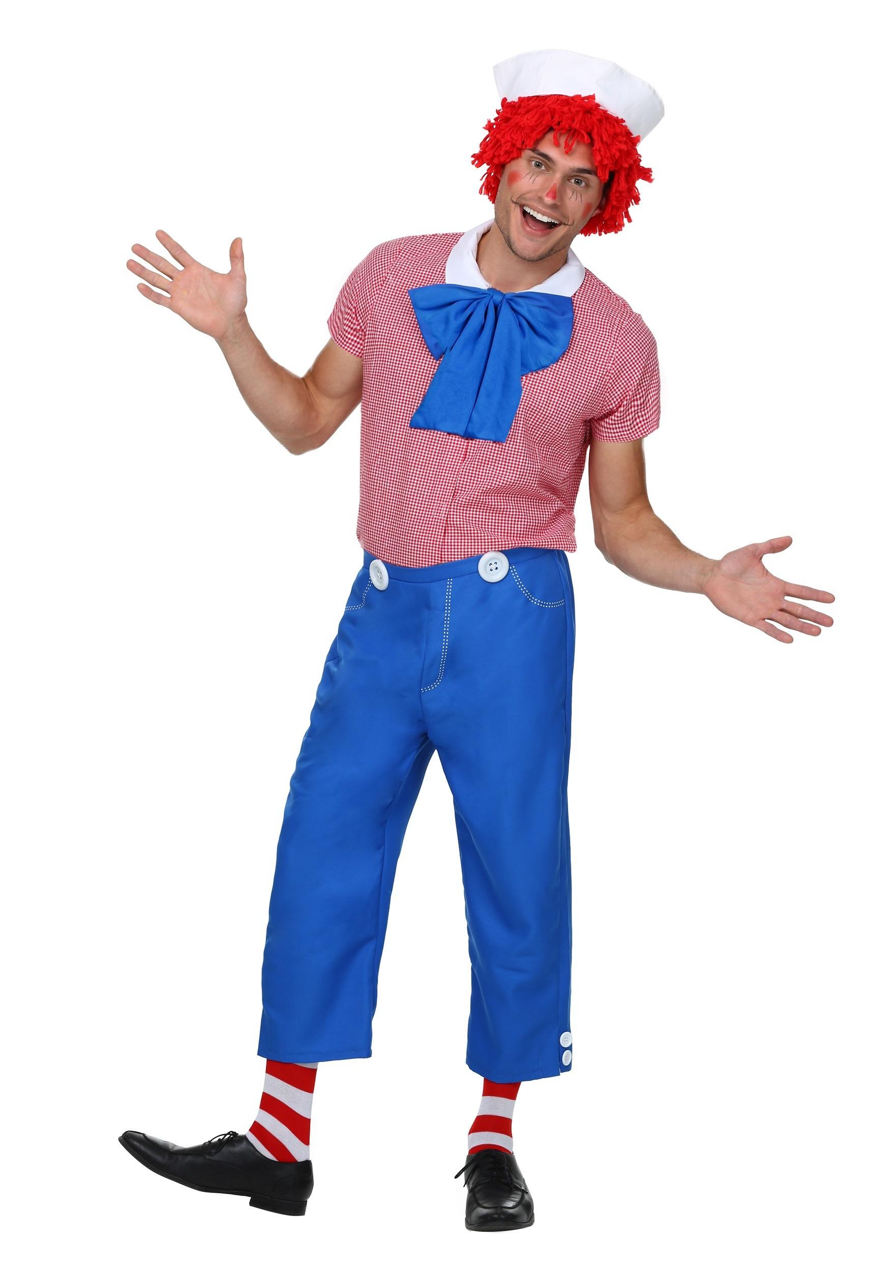 Adult Men's Rag Doll Costume