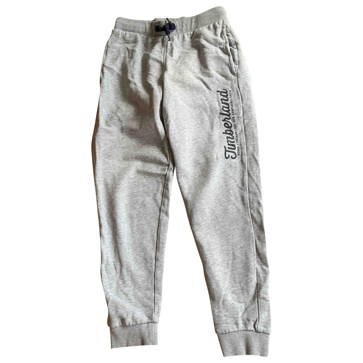 Timberland - Pantalon   pour enfant en coton - gris