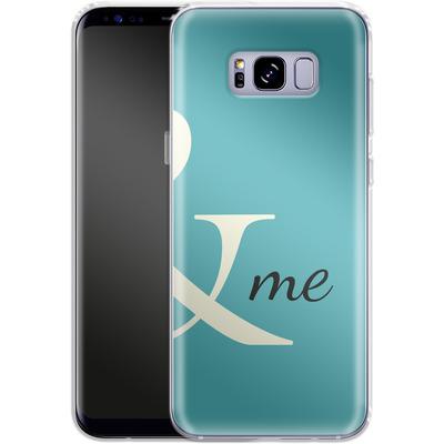 Samsung Galaxy S8 Plus Silikon Handyhuelle - And Me von caseable Designs