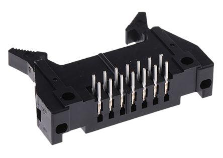 Hirose , HIF3BA, 14 Way, 2 Row, Right Angle PCB Header