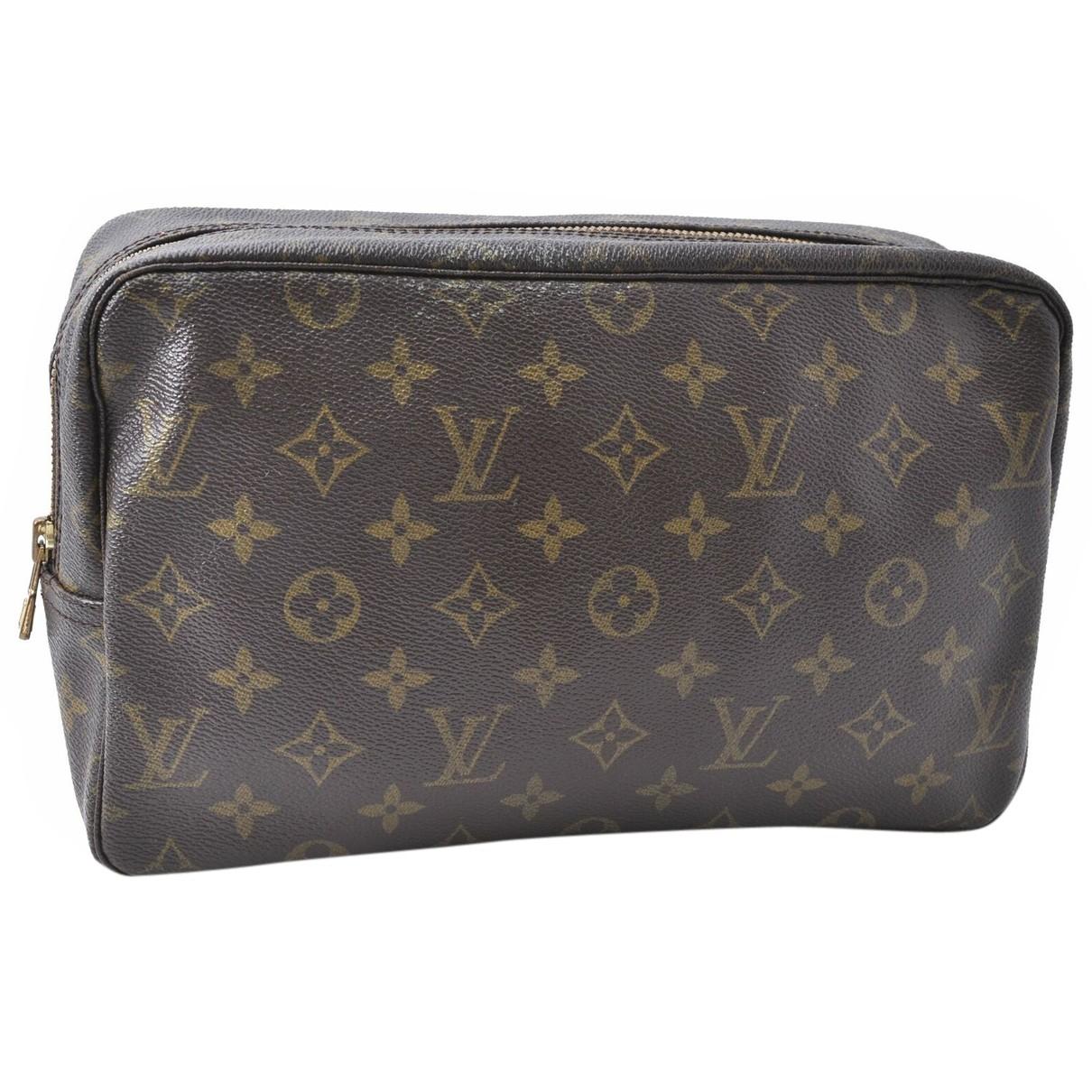 Louis Vuitton - Pochette   pour femme en toile - marron
