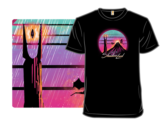 Visit The Shadow Land T Shirt