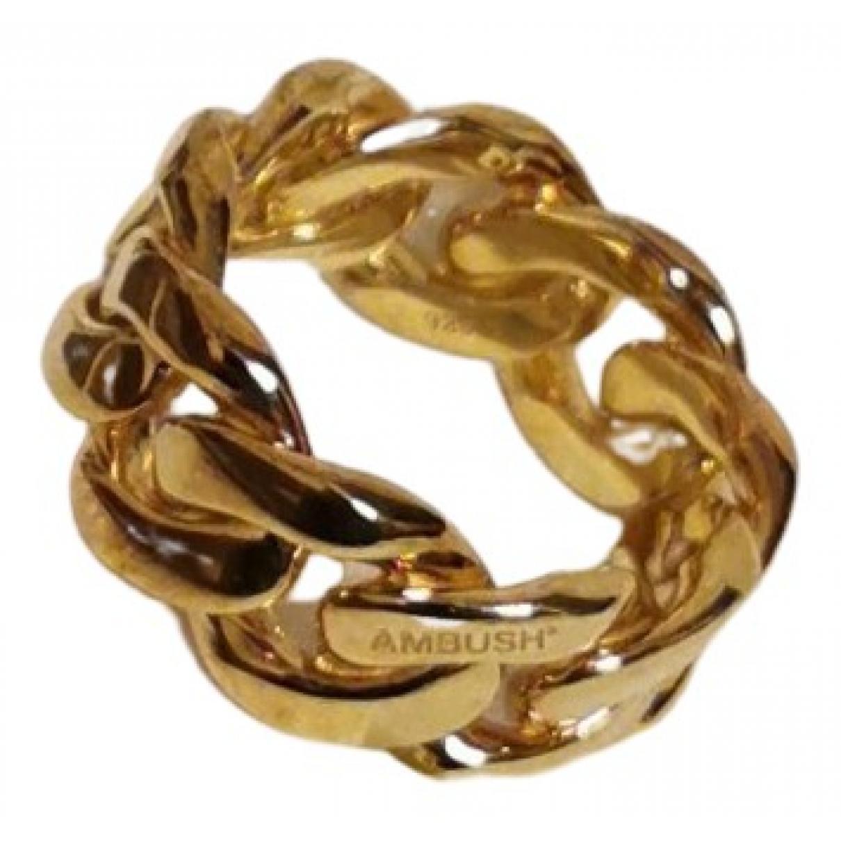 Ambush - Bague   pour femme en plaque or - dore