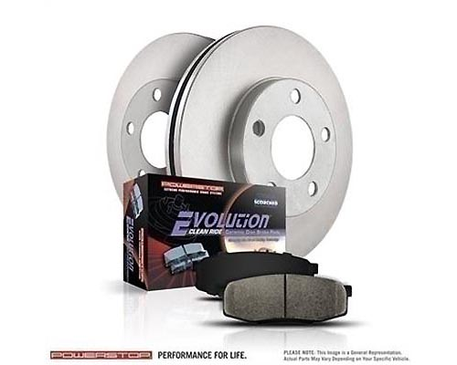 Power Stop KOE1175 Autospecialty Daily Driver Brake Kits Front KOE1175